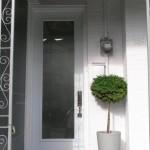 Dramatic oversized front door